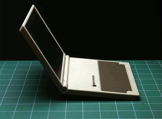 Original Apple Laptop Concept c 1982