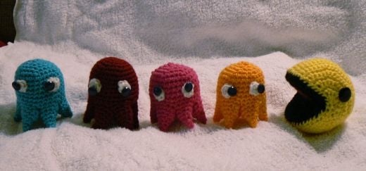 Pac-Man Knit by Carey Huffman