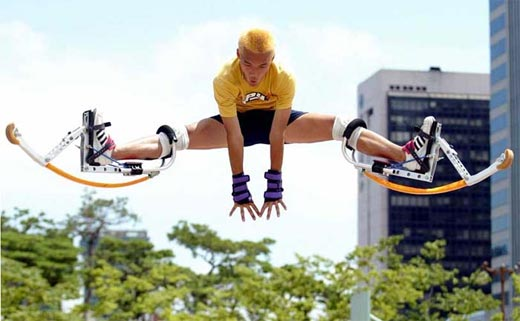 Powerizer Leg Springs Perform Superhuman Feats Technabob