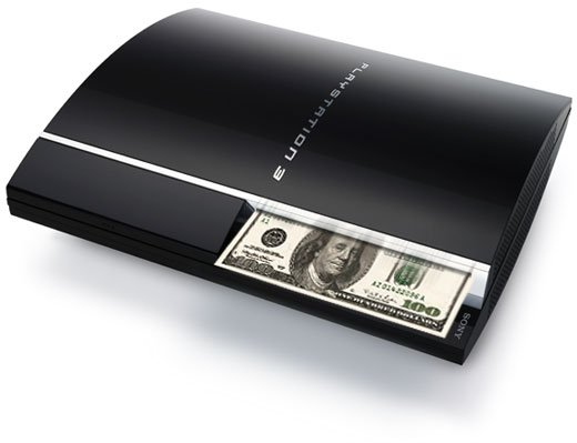PS3 eating money.