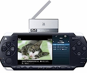 Psp Tv Tuner Announced by Sony