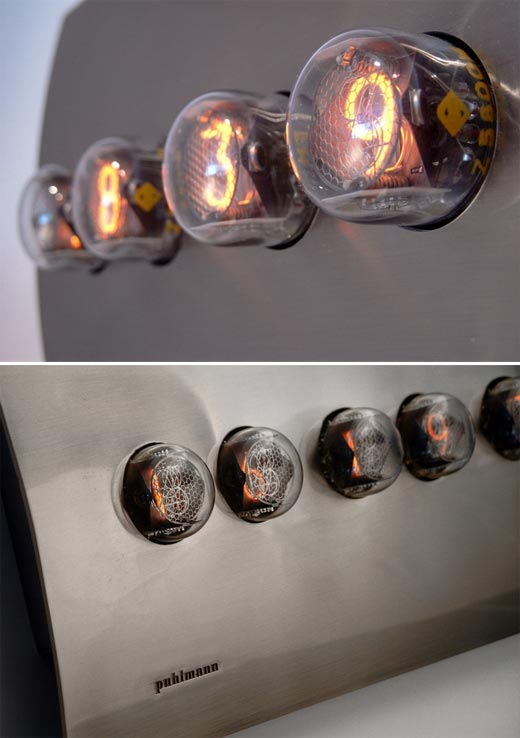 Puhlmann Nixie Clock by Frank Clewits