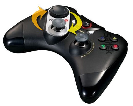 Saitek Cyborg Fps Gamepad Offers Custom Left Controls