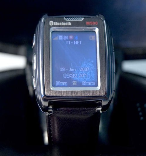 World's Smallest Mobile Phone Fits in a Watch
