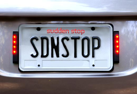 The License Plate Frame That Could Save Lives