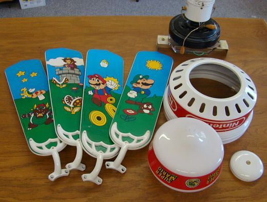 Rare Super Mario Brothers Ceiling Fan