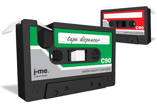 Cassette Tape Dispenser: C30, C60, C90 Go…