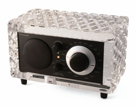 tivoli limited edition model one the real crystal radio. Black Bedroom Furniture Sets. Home Design Ideas