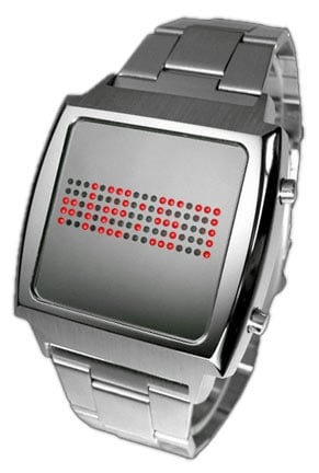Tokyoflash Cyberpunk LED Watch: Lots and Lots of Dots