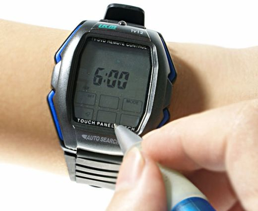 Remote Control Watch: Change Channels From Your Wrist