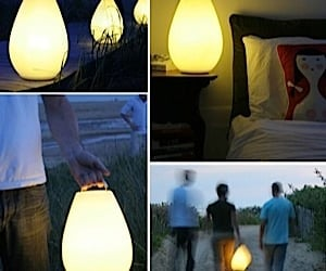Vessel Luau Rechargeable LED Lamp for Outdoors