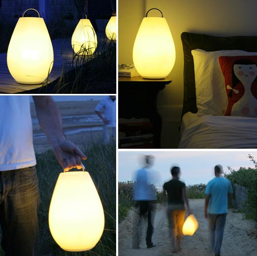 Outdoor Lights Portable: Vessel Luau Rechargeable LED Lamp For Outdoors