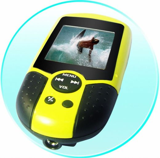 World's First Waterproof Digital Video Player