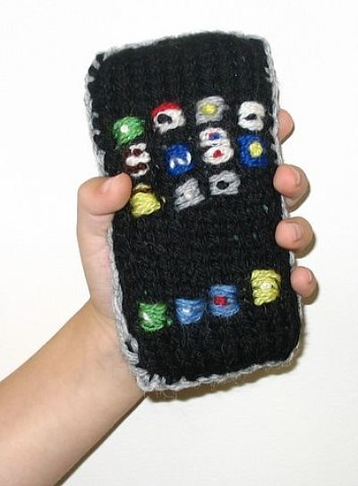 Hand Knit Wool iPhone