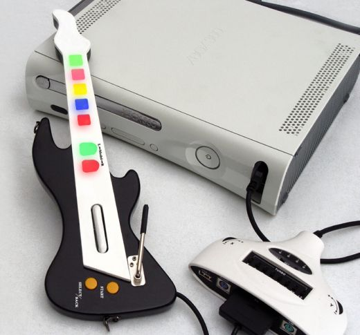 XFPS Mini Guitar for Xbox 360