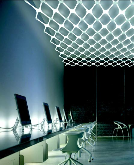 Systemx Interlocking Fluorescent Lights by Yamagiwa