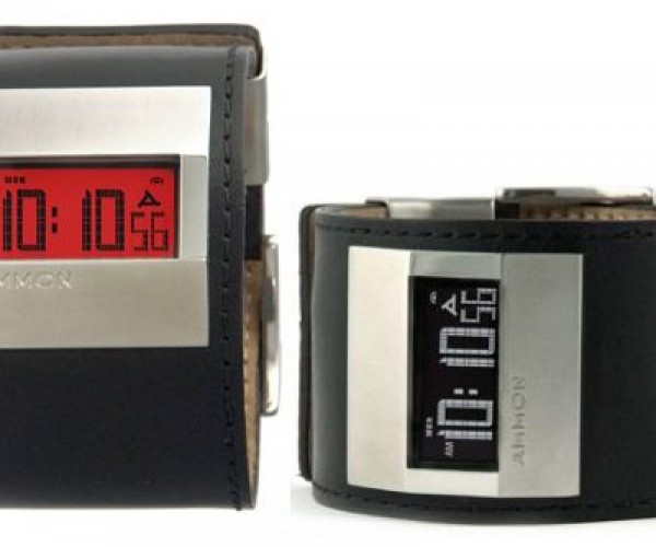 Ammon Proof Digital Watch is a Real Looker