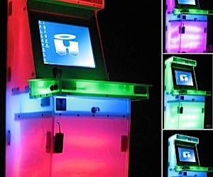 Crystalcade: Home Arcade Gets Flashy