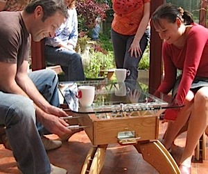 Play Some Foosball While You Sip Your Starbucks