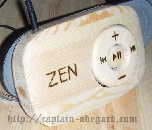Creative Zen Stone, Made Out of Wood