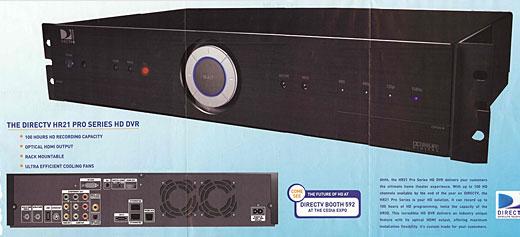 DirecTV HR21 Pro DVR