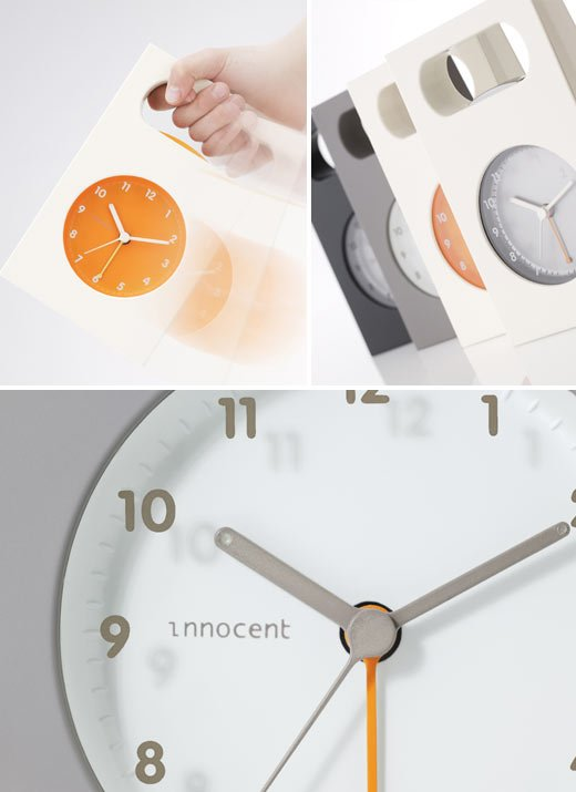 innocent bag clock