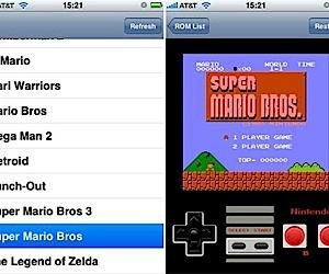 NES Emulator Running on iPhone
