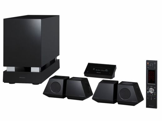pioneer 5 1 home theater does away with receiver box. Black Bedroom Furniture Sets. Home Design Ideas