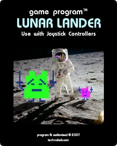 Lunar Lander Label