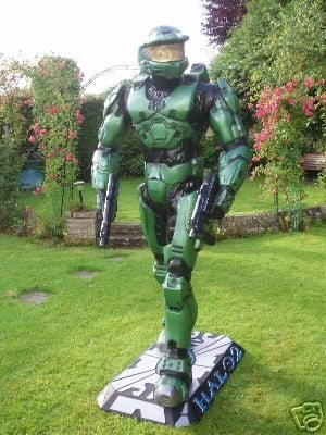 Master Chief Lifesize Statue