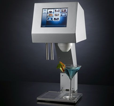 Myfountain: the Real Robotic Bartender