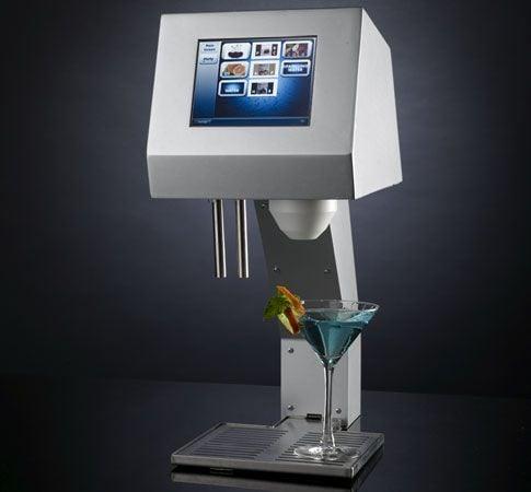 Myfountain: the Real Robotic Bartender