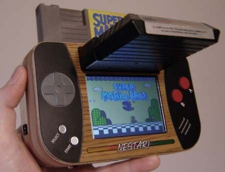 Ben Heck'S NES Atari Portable Console Mashup