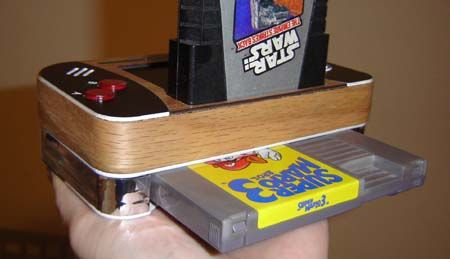 Ben Heck's NESTari Portable Side View