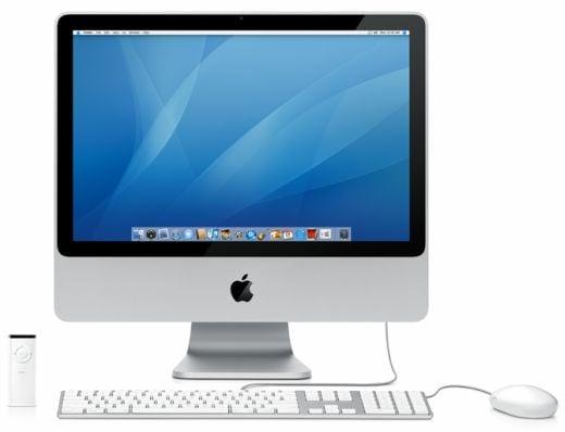 New Aluminum iMac