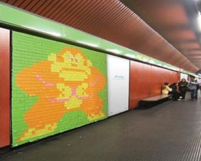 Nintendo Guerilla (or is That Gorilla) Advertising