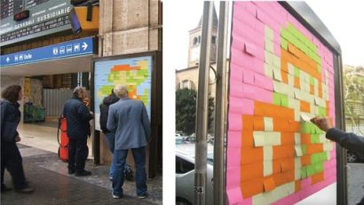 Nintendo Ad with Post-its