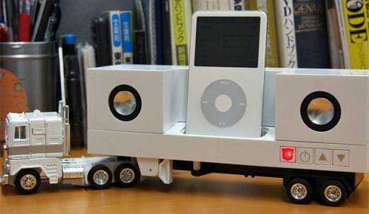 Optimus Prime iPod Dock