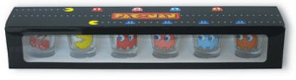 pac man shot box