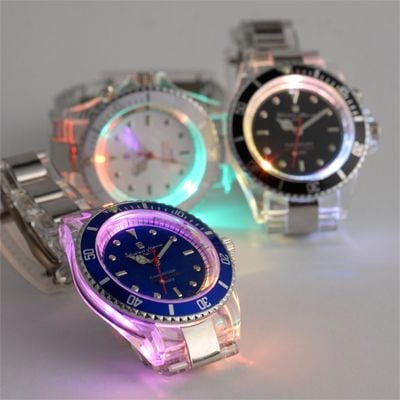 salvatore manna led watch colors