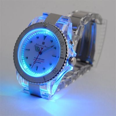 salvatore marra flash watch blue
