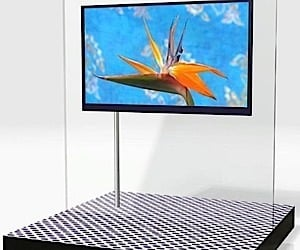 Sharp 52-Inch LCD TV Just Over an Inch Thick