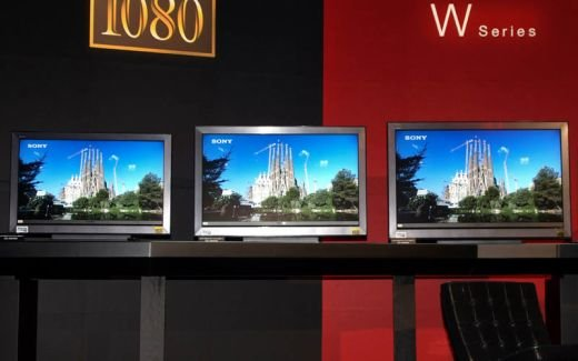 Sony BRAVIA W5000 Series Displays