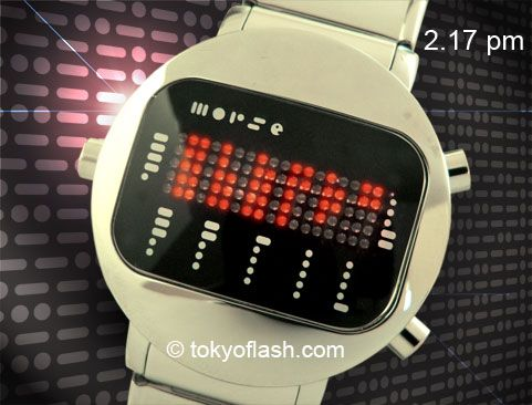 Tokyoflash Morse Code Watch: Dots and Dashes