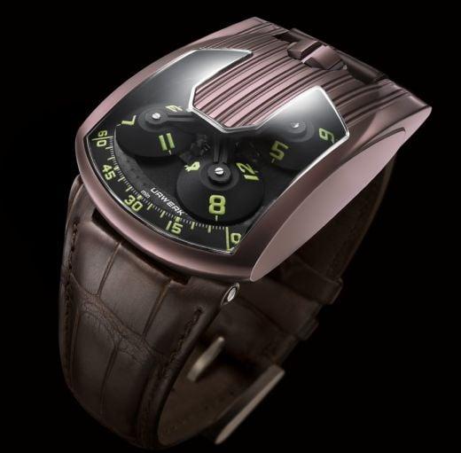 Urwerk 103.08 Titanium Coated Watch Means Business