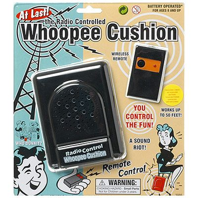 Remote Controlled Whoopie Cushion