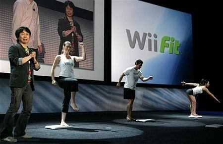 Wii Fit at E3 2007