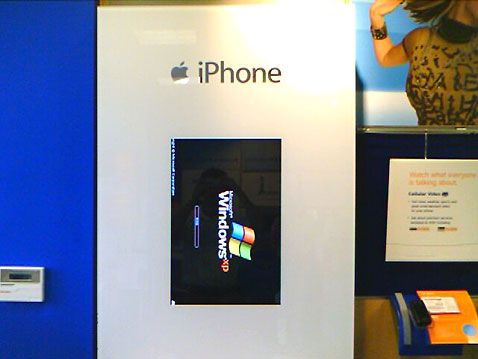 Windows iPhone Kiosk