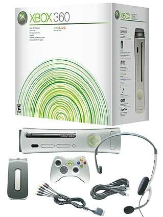 Xbox 360 Premium Box and Accessories