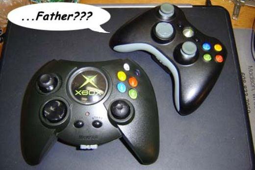 Xbox Controller Swallows Xbox 360 Controller